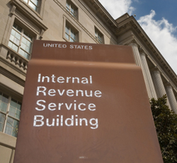 IRS Building to illustrate IRS Representation Services